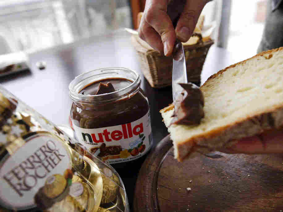 """The fact that Nutella's parent company, Ferrero, is known for its chocolates might be a tip-off that the sweet hazelnut spread isn't exactly """"health"""" food."""