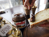 The fact that Nutella's parent company, Ferrero, is known for its chocolates might be a tip-off that the sweet hazelnut spread isn't exactly