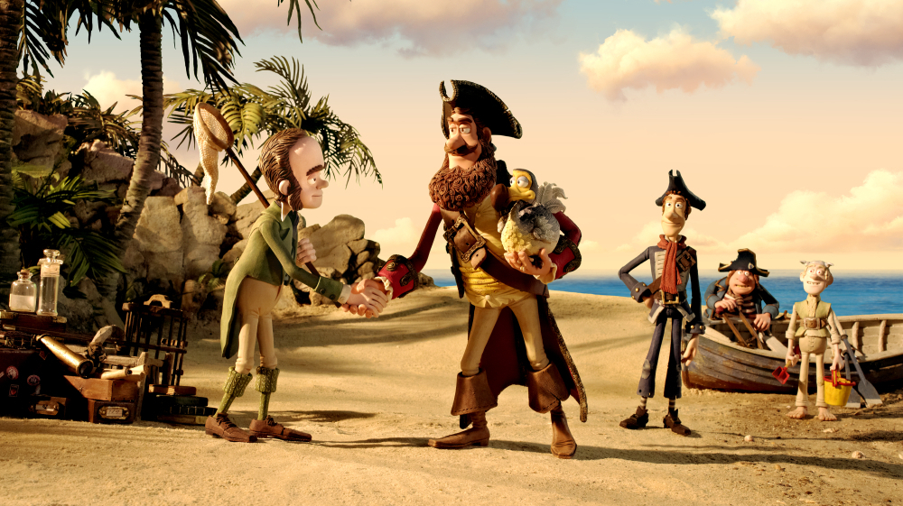 Movie Review Pirates Band Of Misfits Avast Ye Bumbling Buccaneers Npr