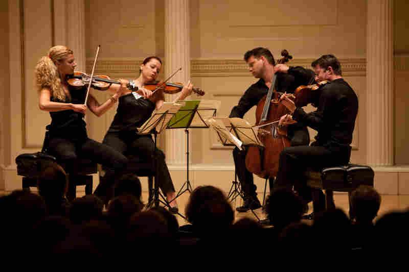The Pavel Haas Quartet (Veronika Jaruskova and Eva Karova, violins; Pavel Nikl, viola; and Peter Jarusek, cello) gave an intimate and richly realized concert of music by Tchaikovsky, Shostakovich and Smetana at Carnegie Hall's Weill Recital Hall on April 27, 2012.