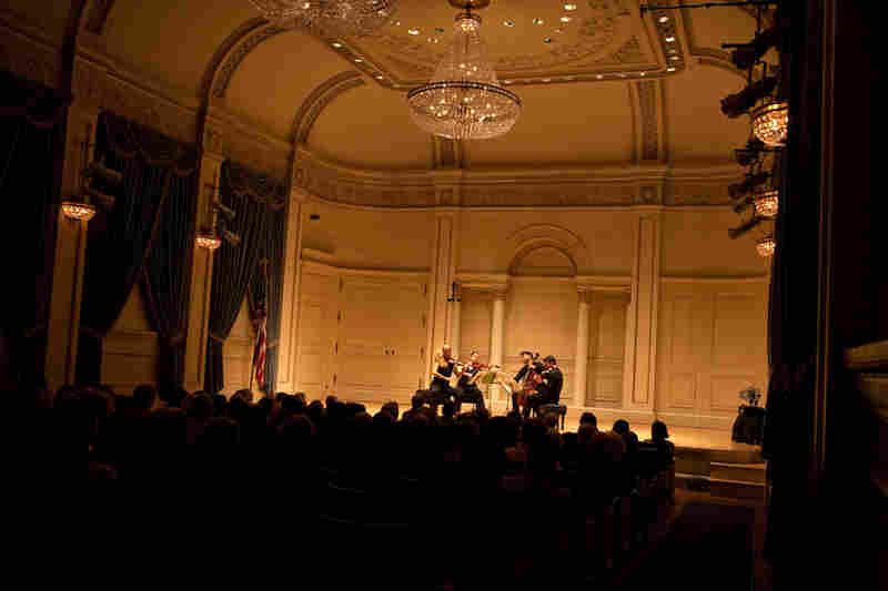 """The group played at Carnegie's most intimate and very elegant Weill Recital Hall. As one audience member remarked during intermission, this is the """"sweetest place for chamber music."""""""