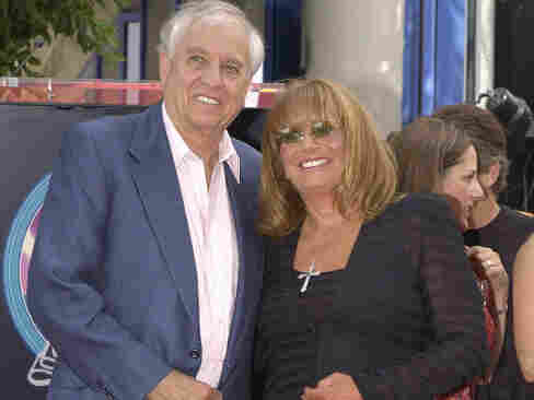 Director Garry Marshall and sister, actress-director Penny Marshall, seen here in 2004 when she received her star on the Walk Of Fame.
