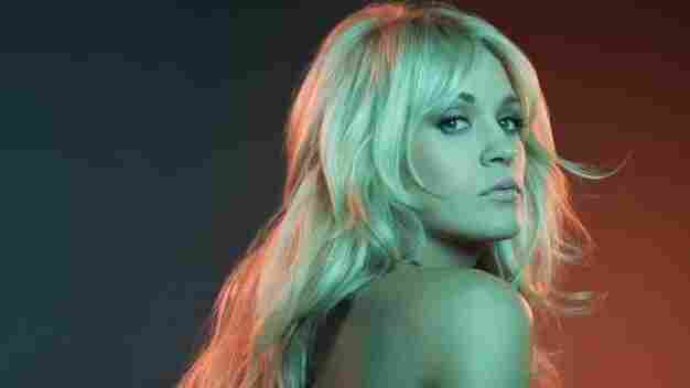 Carrie Underwood's new album is Blown Away.