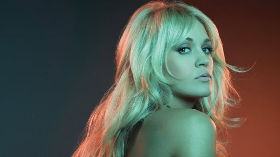 Carrie Underwood's new album is Blown Away. (Courtesy of the artist)