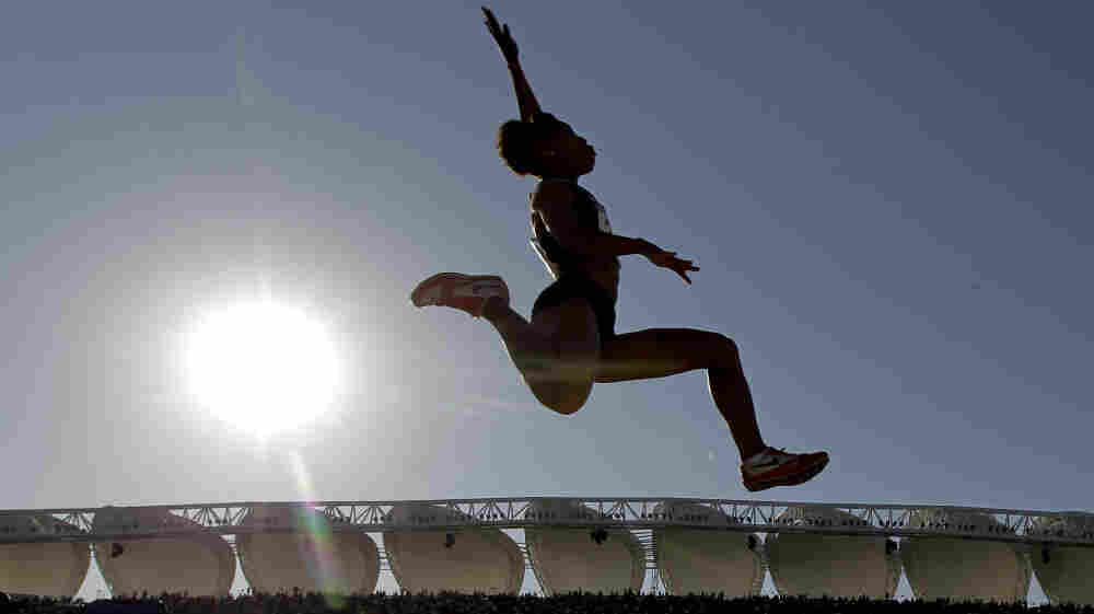 Shameka Marshall won the silver medal in the long jump at the Pan American Games in Mexico last October. At 28, Marshall may be making her final push to be on the U.S. Olympic team.