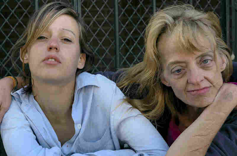 Two Women, Camden, N.J., 2006