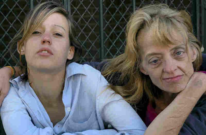 Two Women, Camden, N.J., 2006