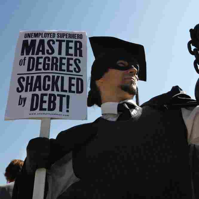 Help For The Economy? Not From Debt-Bound Grads