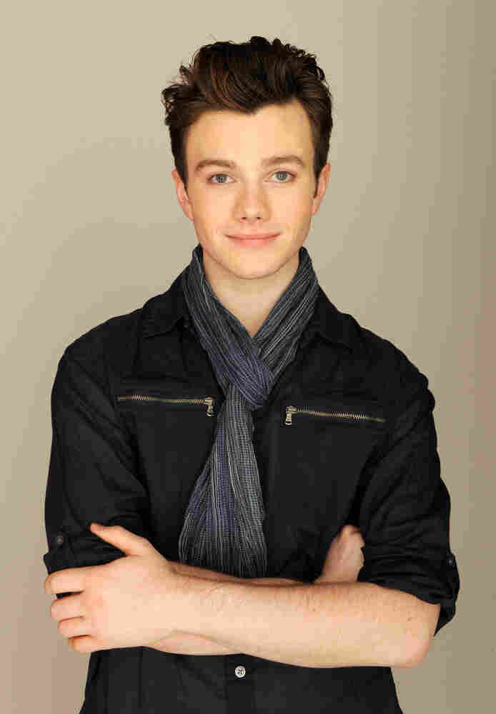 Chris Colfer, writer and star of Struck By Lightning, at the Tribeca Film Festival, where the film is playing.