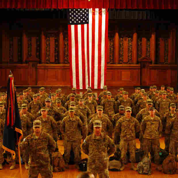 National Guard Members' Next Battle: The Job Hunt