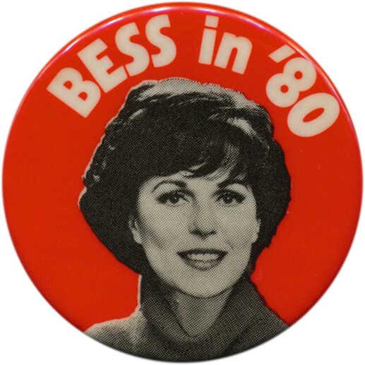Bess Myerson button