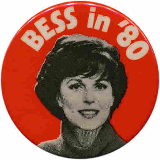 Bess Myerson button