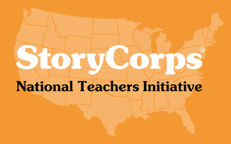 StoryCorps' National Teachers Initiative