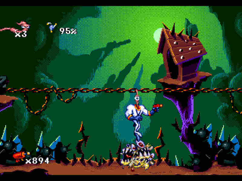 Earthworm Jim, 1994.