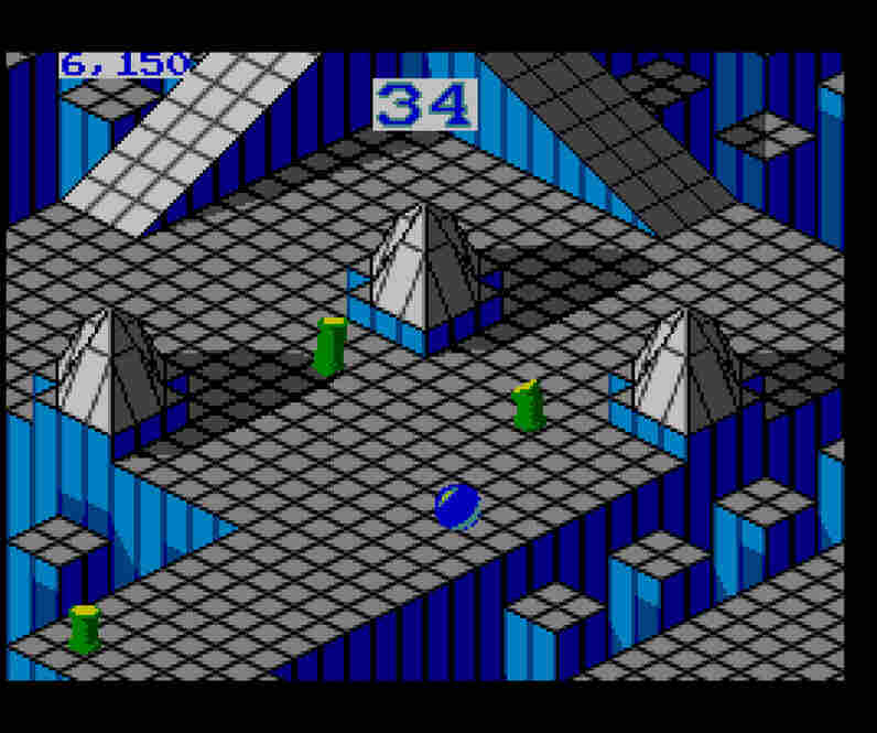 Marble Madness, 1992.