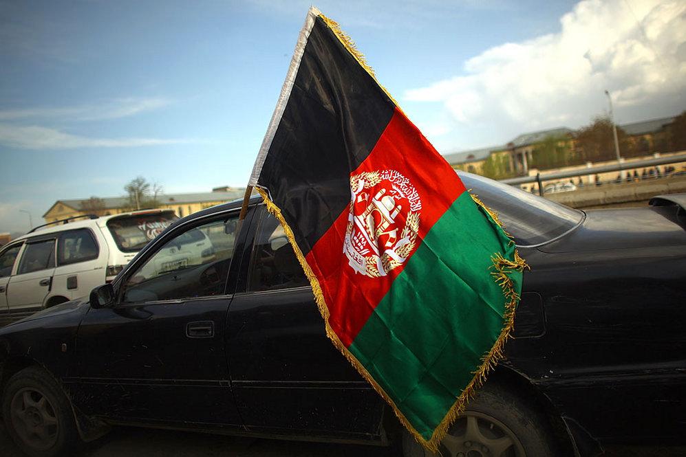 Afghan national flag