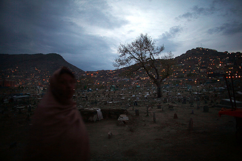 Cemetery and Hazara neighborhood