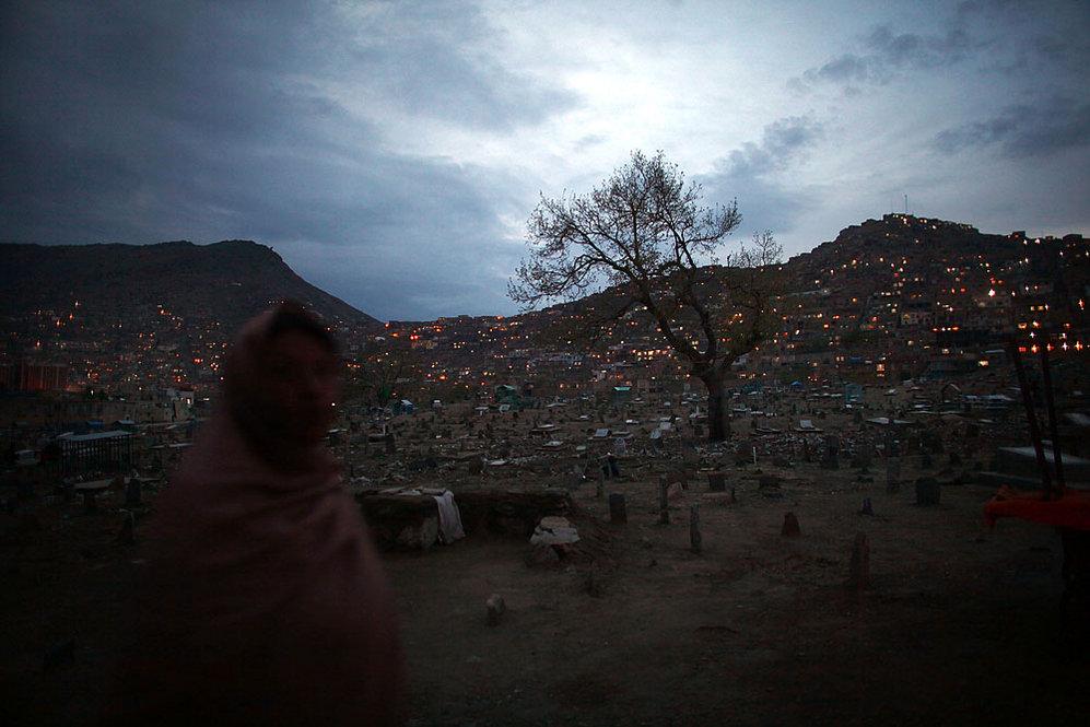 Cemetery and Hazara neighborhood