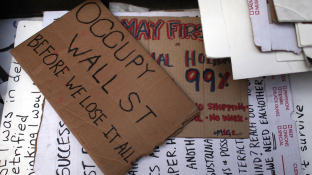 The Occupy movement will try to regain the momentum it created last fall. (Getty Images)