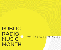 Read about more stories about music discover at the Public Radio Music Month website.