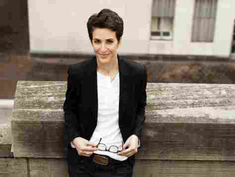 Rachel Maddow hosts the nightly news talk show The Rachel Maddow Show on MSNBC.