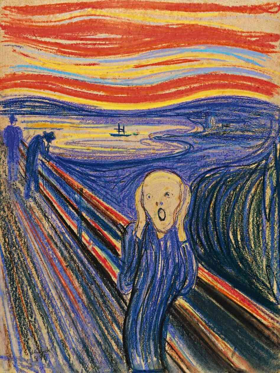 This version of The Scream i