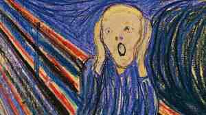 This version of The Scream is one of four made by Edvard Munch, and the only one outside Norway. It is coming up for auction at Sotheby's in New York.