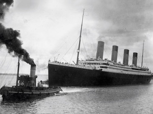 April 4, 1912: The Titanic leaves Southampton, England, on her ill-fated first voyage.
