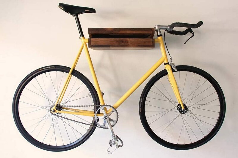 Bike Shelf Chris Brigham Designed The To Fill What He Saw As A