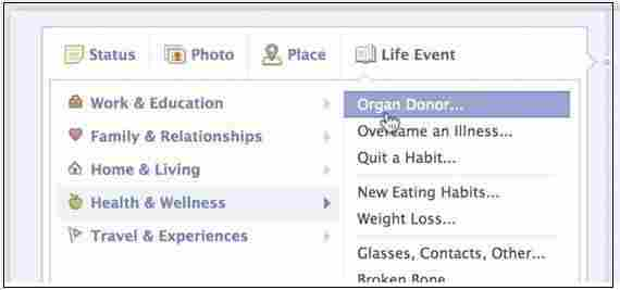 A new status option.