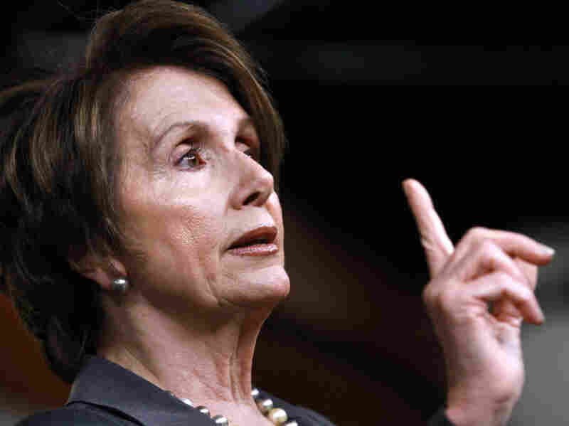 House Minority Leader Nancy Pelosi speaks at a news conference on Capitol Hill in Washington last week.