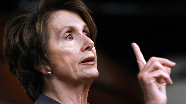 House Minority Leader Nancy Pelosi speaks at a news conference on Capitol Hill in Washington last week. (AP)