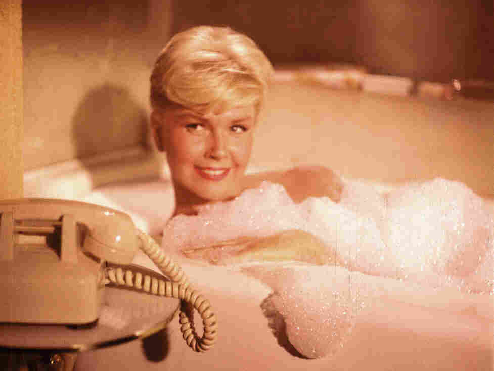 Pillow Talk stars Doris Day (above) and Rock Hudson as a pair of strangers who butt heads and fall in love on a shared telephone line.
