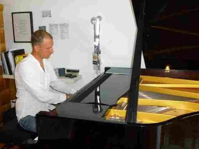 Though his current album was just be released in February, Benny Lackner is already busy composing his next album, which is inspired by his five-month old daughter, Emilia.