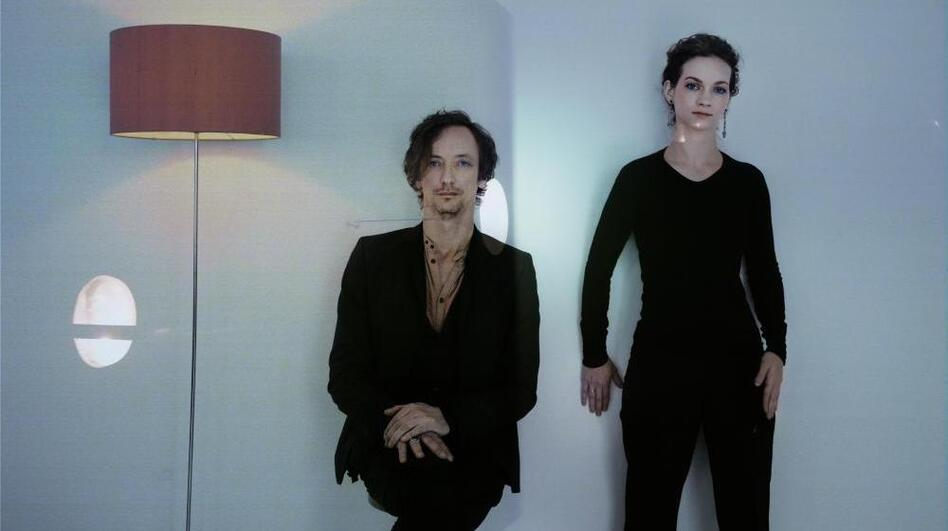 Hilary Hahn and Hauschka's new album, <em>Silfra</em>, comes out May 22.