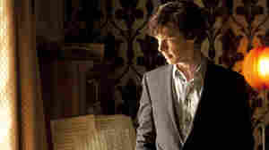 Benedict Cumberbatch plays a modernized Holmes who carries a cellphone and gets his buzz from nicotine patches.