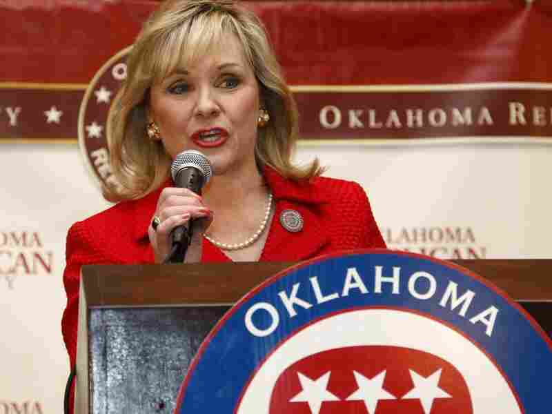 Oklahoma Gov. Mary Fallin proposed slashing state income tax rates this year and eventually phasing out the tax.