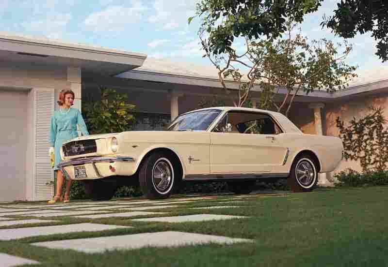 The Ford 1964 Mustang is listed as one of the most influential cars of the past 50 years.