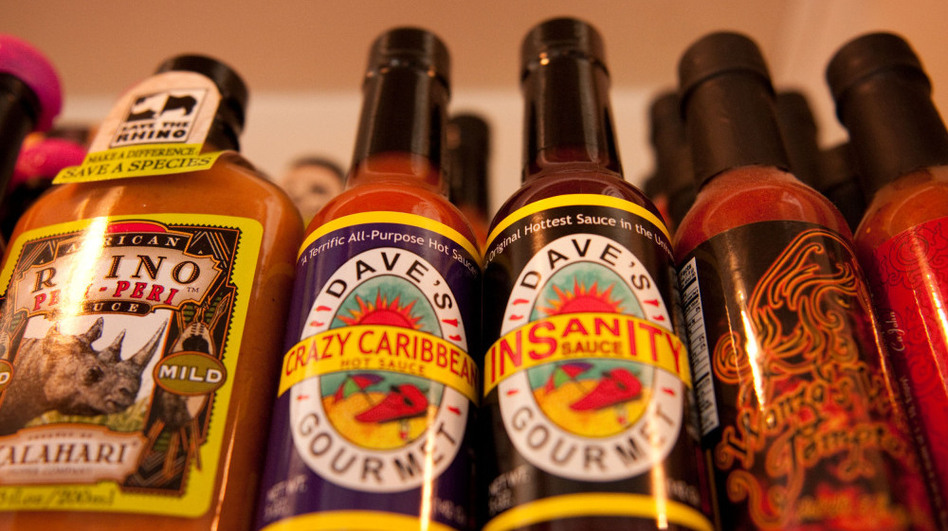 Dave's Insanity Sauce, touted as the hottest sauce on the market. (NPR)