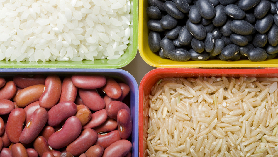 Beans and rice are a popular, healthy, and cheap food option. But how healthy are they? (istockphoto.com)