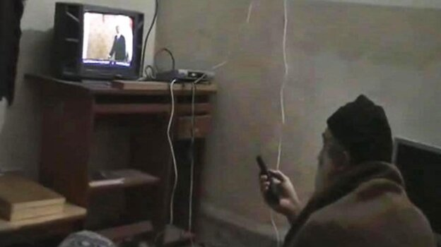 Documents released Thursday show Osama bin Laden wanted al-Qaida and other extremist groups to focus on the U.S., and he was upset that they were killing so many Muslims. This undated image was seized from the walled compound in Abbottabad, Pakistan, where bin Laden was killed a year ago.