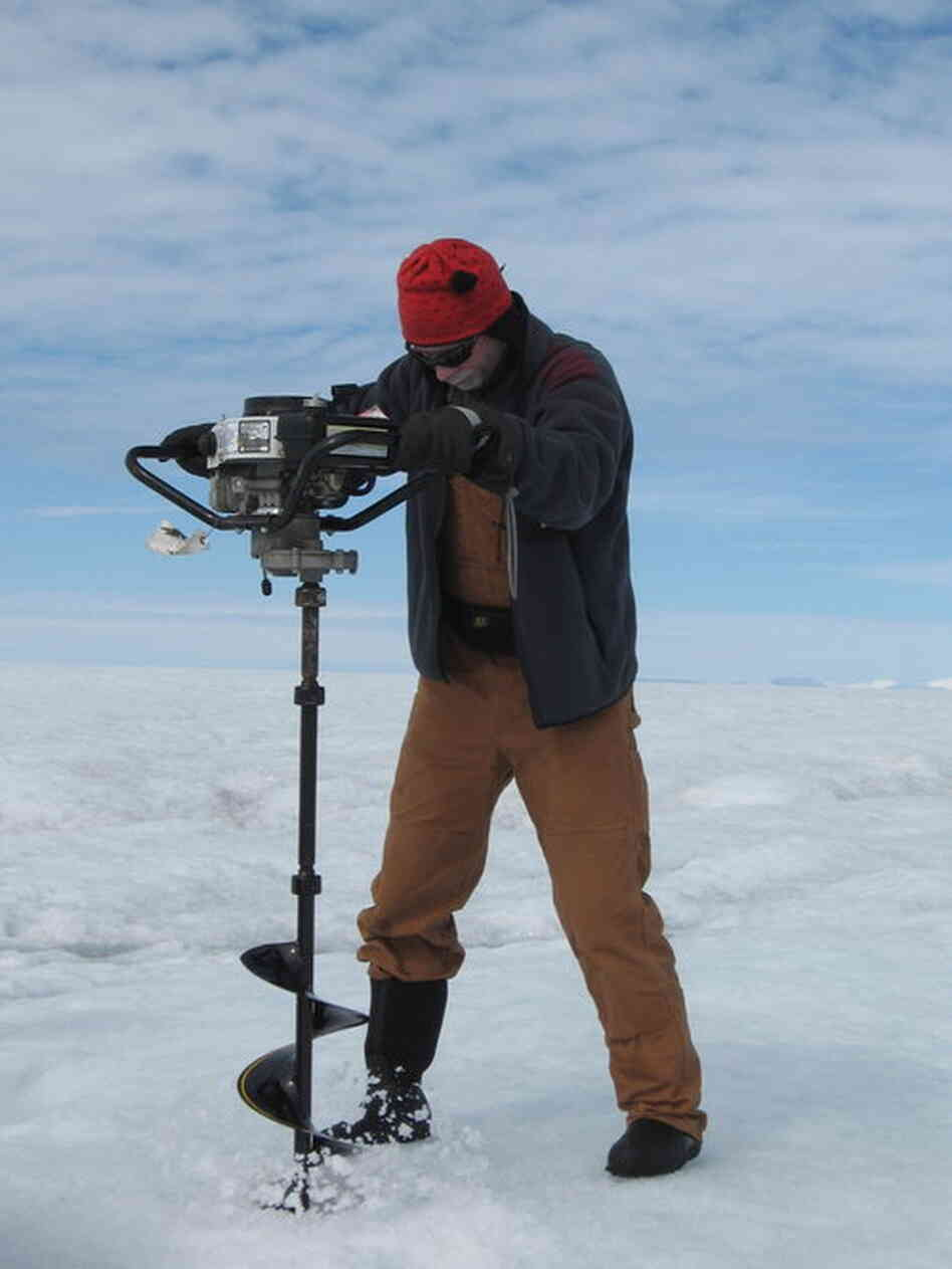 "Ian Joughin, a polar scientist, says the ""wo"