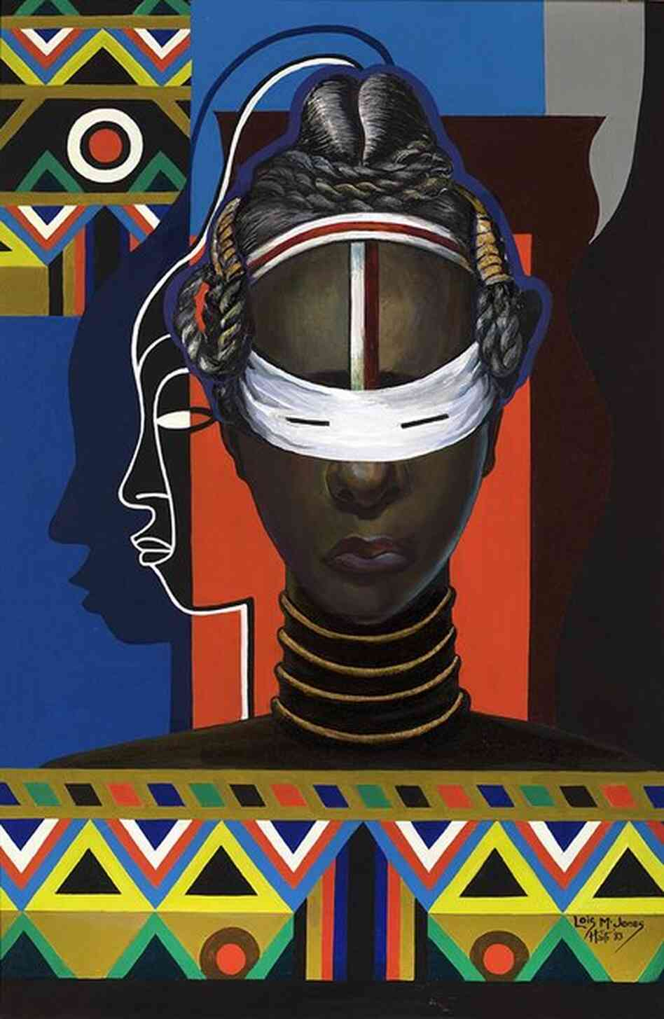 Colorful Visions At African American Art Exhibit Npr