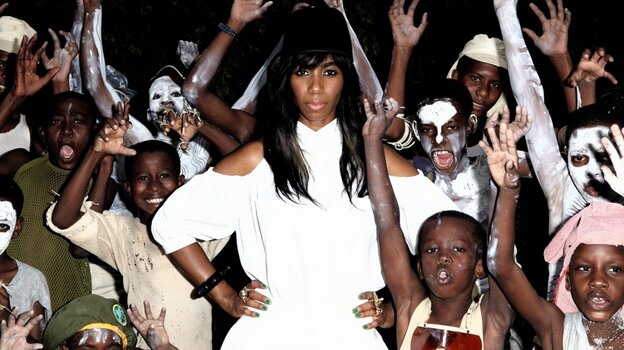 Santigold's latest album is titled Master Of My Make Believe.
