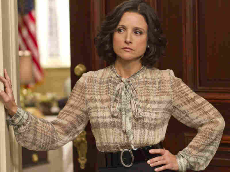 Julia Louis-Dreyfus plays a frustrated vice president in the new HBO comedy Veep.