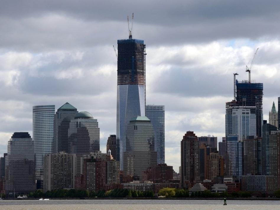Rising above the Manhattan skyline: 1 World Trade Center. (Don Emmert /AFP/Getty Images)