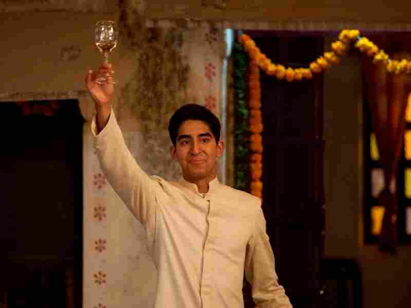 "Dev Patel as ""Sonny"" on the set of The Best Exotic Marigold Hotel."