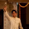 """Dev Patel as """"Sonny"""" on the set of The Best Exotic Marigold Hotel."""