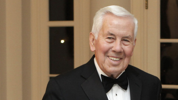 Sen. Richard Lugar, R-Ind., attends a state dinner at the White House on Oct. 13, 2011. (Reuters /Landov)