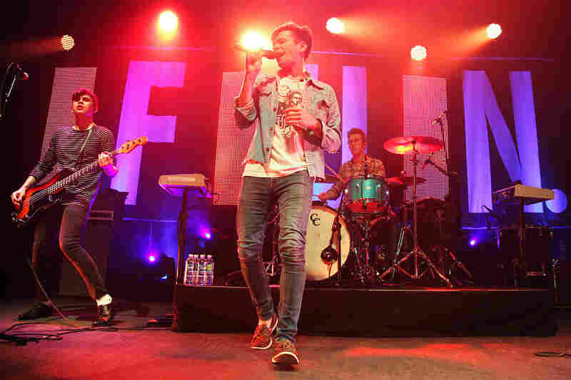 fun. perform at the 9:30 Club in Washington, D.C. on May 3, 2012.